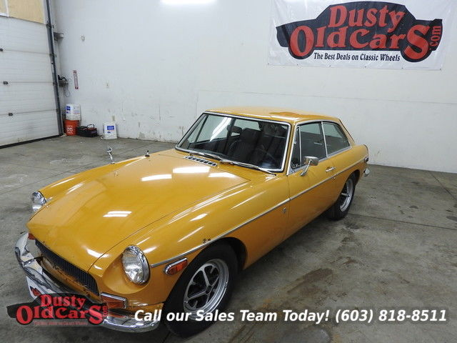 1970 MG MGB Runs Drives Body Inter Good 1.8L 4 Spd