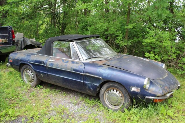 1971 Alfa Romeo Spider Veloce Parts/Project Car Clean Title