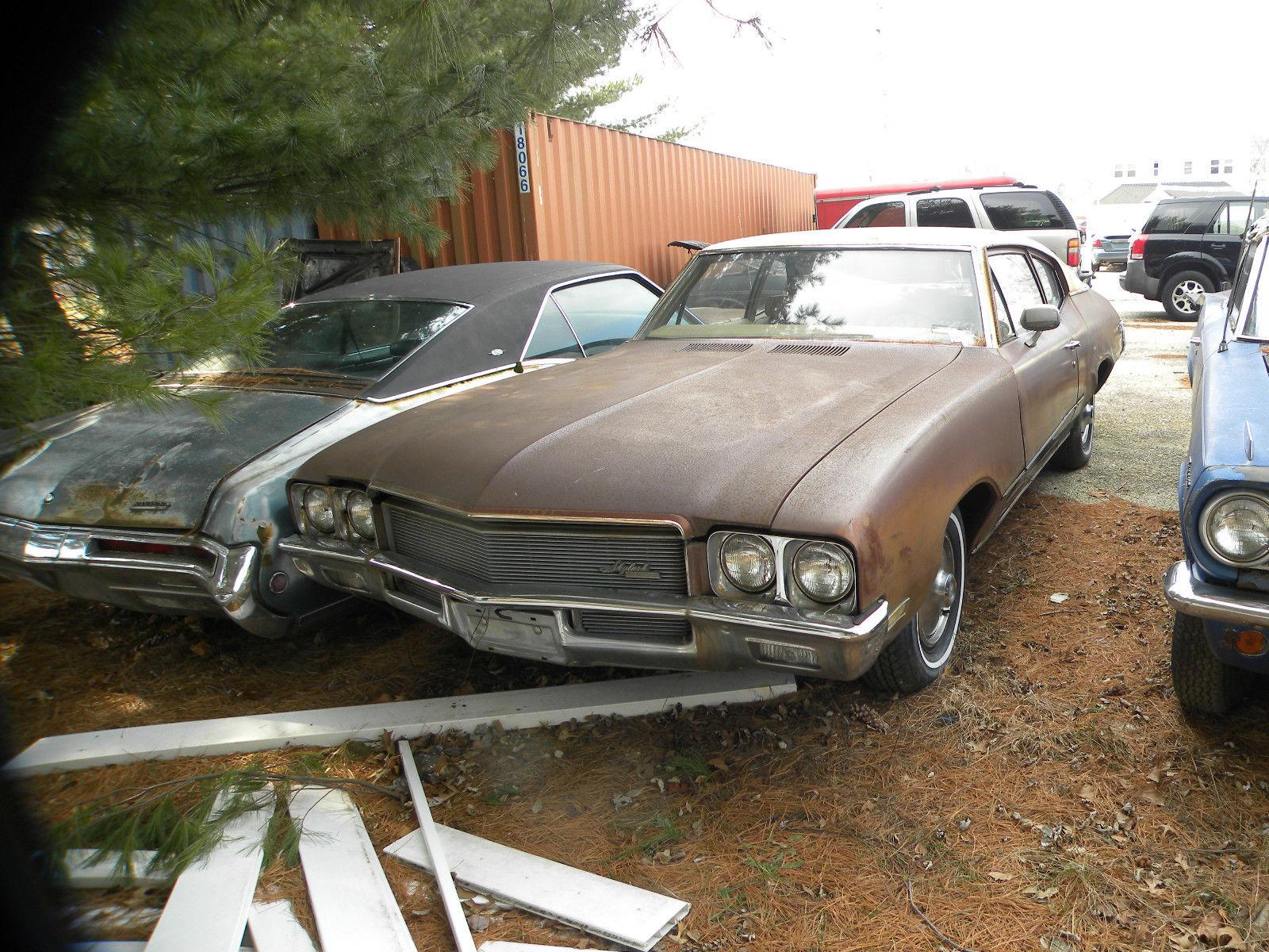 1971 buick skylark base coupe 2-door 5.7l for sale: photos