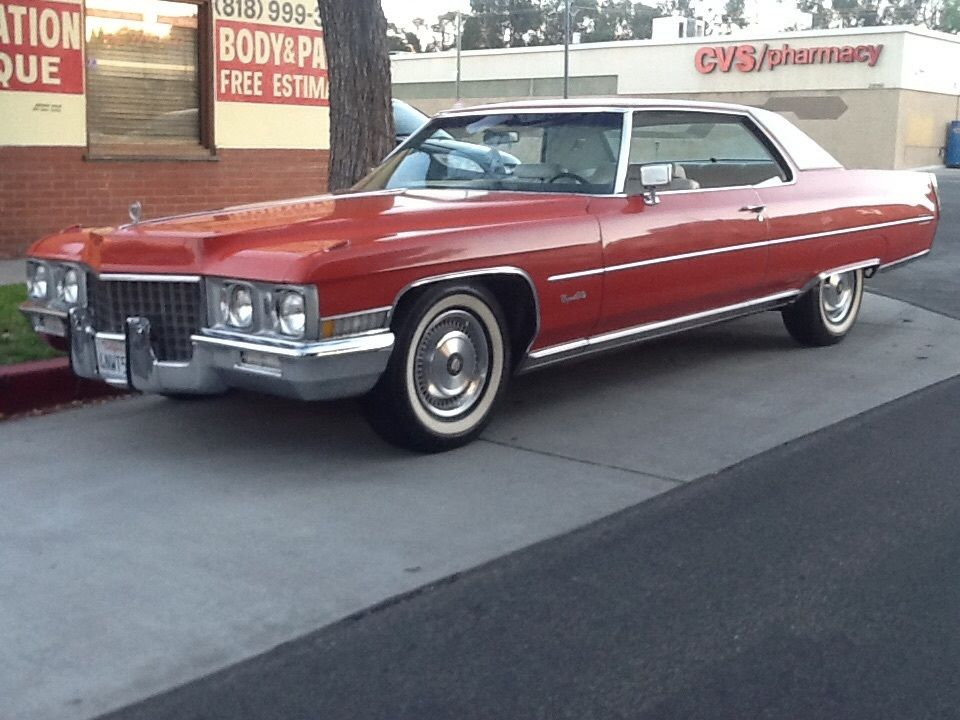 1971 Cadillac DeVille coupe