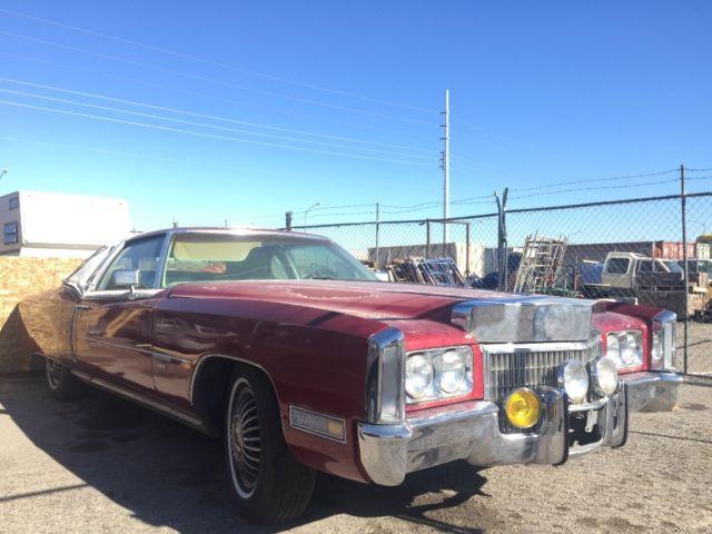 1971 Cadillac Eldorado Superfly Custom Rare Survivor NO RUST! One