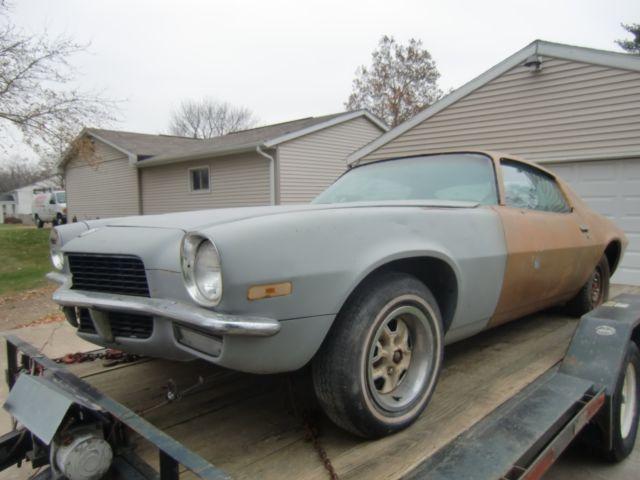 1971 Camaro Survivor Street Machine Project Car Barn Find Ss Z28 67 69 70 72 80