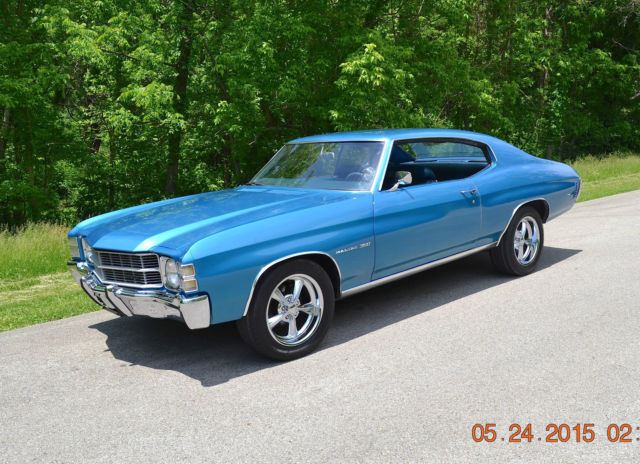 1971 Chevrolet Chevelle MAIBLU 350 SPORT COUPE