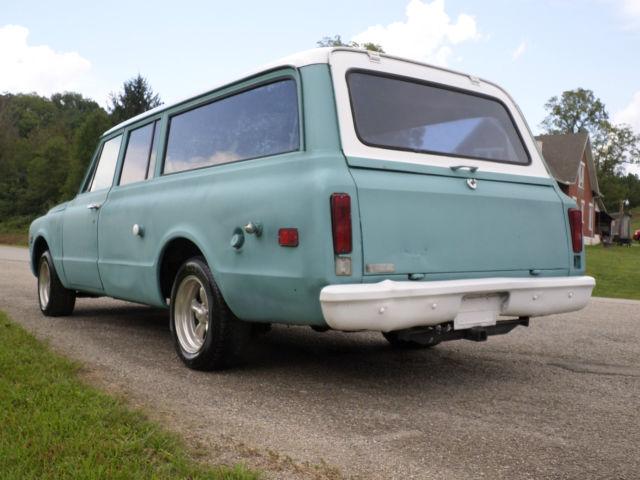 1971 chevrolet 3 door suburban project fact overhead air for 10 door suburban