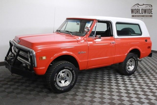 1971 Chevrolet Blazer Restored. CST. Hugger Orange. $28K Invested!