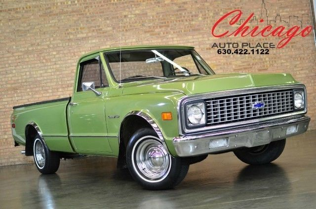 1971 Chevrolet C-10 show truck C-10 Classic Show Car,lowered,bagged