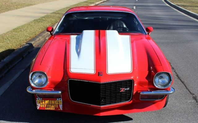 1971 Red Chevrolet Camaro LS1 Pro-touring Coupe with Black interior
