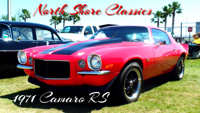 1971 Chevrolet Camaro Rs 383 Stroker Motor Real Split