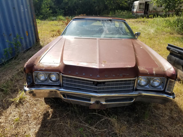 1971 Chevrolet Caprice Convertible for sale: photos