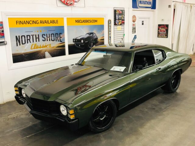 1971 Chevrolet Chevelle - 540 BIG BLOCK - 6 SPEED TRANS - PRO TOURING BUIL