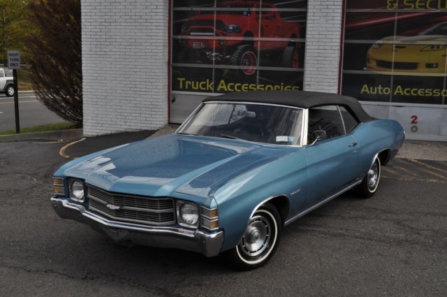 1971 Chevrolet Chevelle Malibu Convertible Survivor MUST SELL! NO RESERVE!