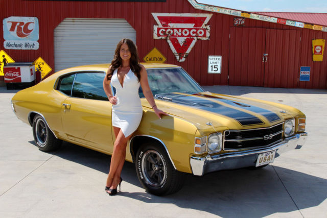1971 chevrolet chevelle placer gold 454 v8 4 speed manual for sale photos technical. Black Bedroom Furniture Sets. Home Design Ideas