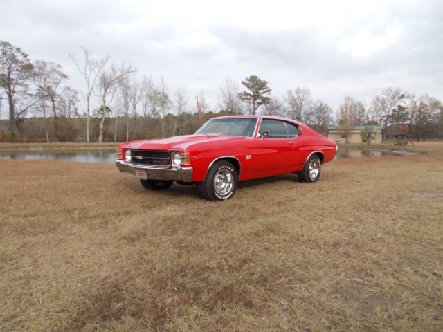 1971 Chevrolet Chevelle Ss 350 For Sale Photos Technical