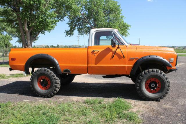 1971 Chevrolet Chevy C10 Custom Mud Rock Truck 4x4 383