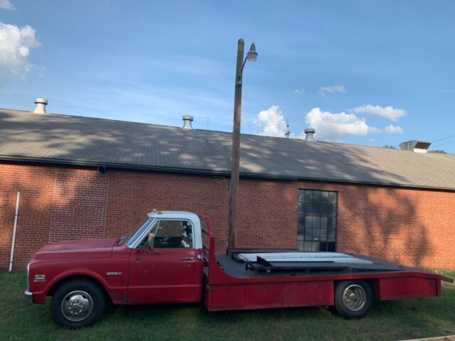 1971 Chevrolet Cheyenne C30 ramp truck 400 402 big block Automatic AC
