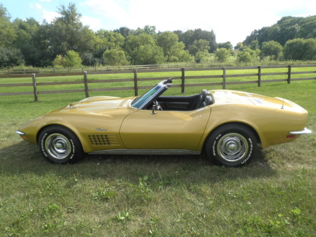 1971 Chevrolet Corvette 2 Top Roaster
