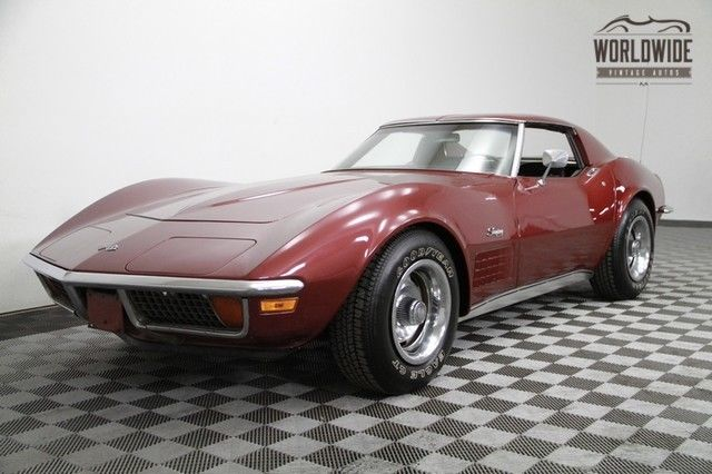 1971 Chevrolet Corvette New 350 V8! Four Speed! 4K MILES! Gorgeous!