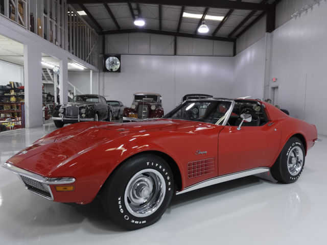 1971 Chevrolet Corvette Stingray 454 Coupe, Low miles! Exquisite interior