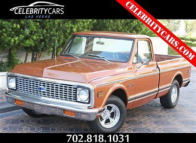 1971 Chevrolet C-10 1971 Chevrolet Custom C/10 Pick-up Truck