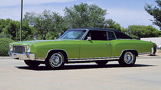 1971 Chevrolet Monte Carlo FREE SHIPPING WITH BUY IT NOW!!
