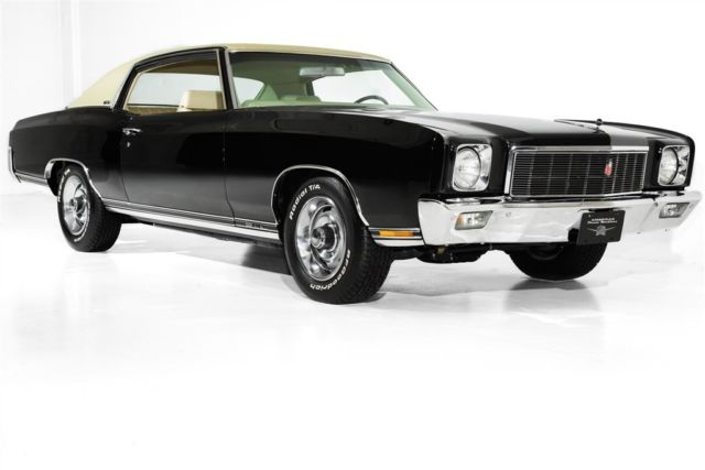 1971 Chevrolet Monte Carlo Real SS 454, Tilt AC, Gorgeous.