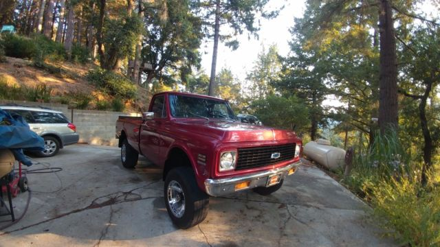 1971 Chevrolet Other Pickups Big Block Truck