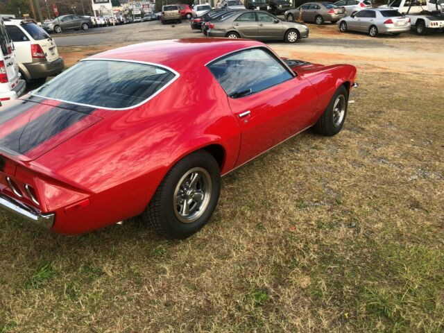 1971 Red Chevrolet Camaro Coupe with Black interior