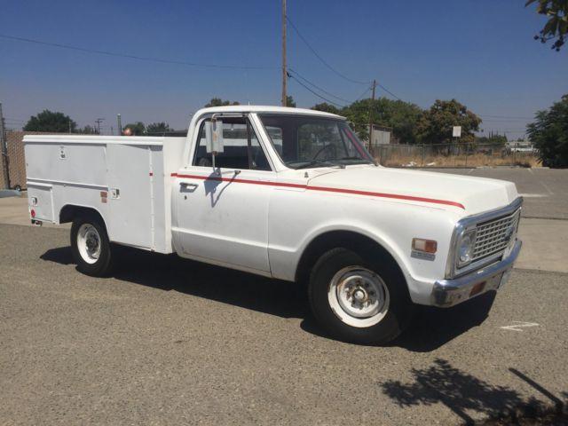 1971 Chevy Custom 20 Service Truck Utility Body 3/4 ton C ...