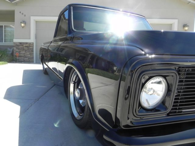 1971 Chevrolet C-10 shaved,frenched,chanelled,