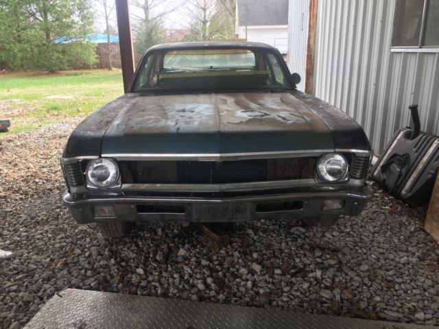 1971 CHEVY NOVA PROJECT for sale: photos, technical