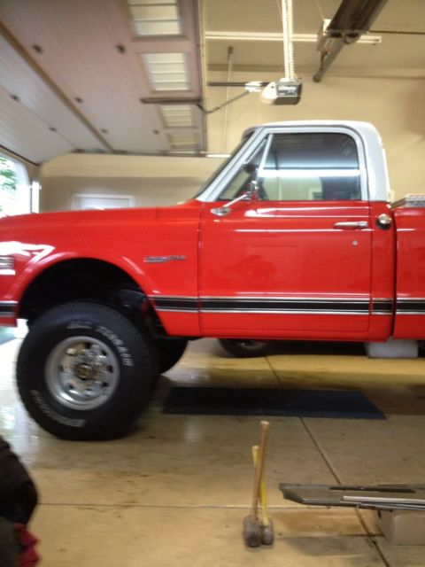 1971 Chevrolet C/K Pickup 2500 Custom 20