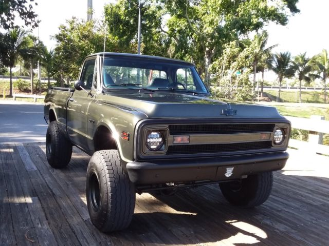 1971 ECO GREEN Chevrolet Other Pickups PICKUP
