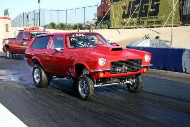 1971 Chevy Vega Wagon Chevy Vega Gasser Drag Racing For