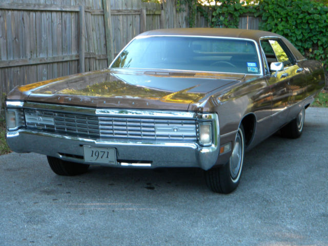 1971 Chrysler Imperial LeBaron