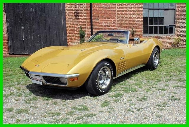 1971 Chevrolet Corvette 1971 Corvette Big Block, air, leather, Original
