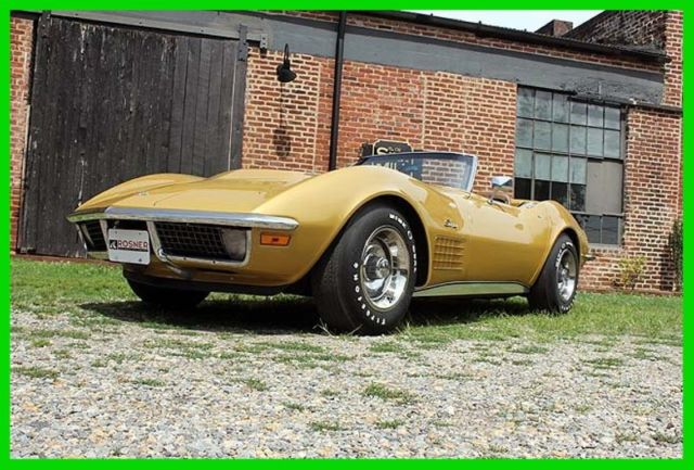 1971 Chevrolet Corvette 1971 Corvette Big Block, air, leather, 98k miles