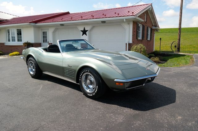 1971 Chevrolet Corvette Big Block Fact A/C 4-speed PS PB PW
