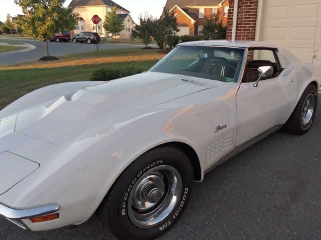 1971 Chevrolet Corvette Coupe T - Tops with 45,000 Original Miles