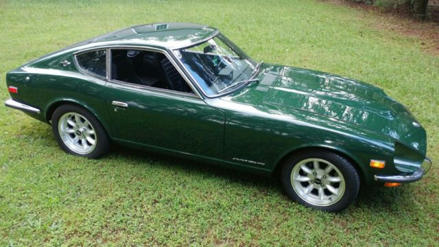1971 DATSUN 240Z SERIES I COUPE ~ 5-SPEED ~ 907 GREEN ...