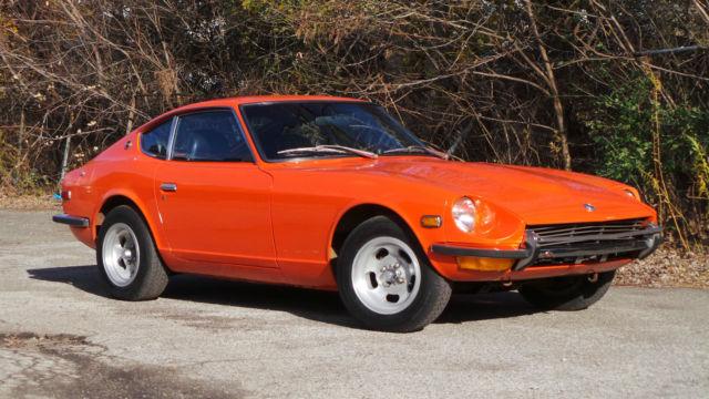 1971 Datsun 240z Solid Rust Free Running Drivining Car
