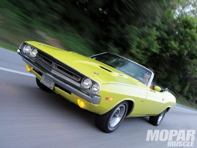 1971 Dodge Challenger Base Convertible 2-Door