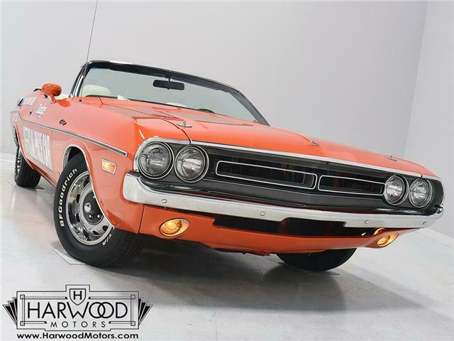 1971 Dodge Challenger Pace Car --