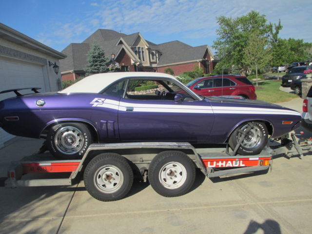 1971 Dodge Challenger R T 440 Six Pack 4 Speed True Shaker