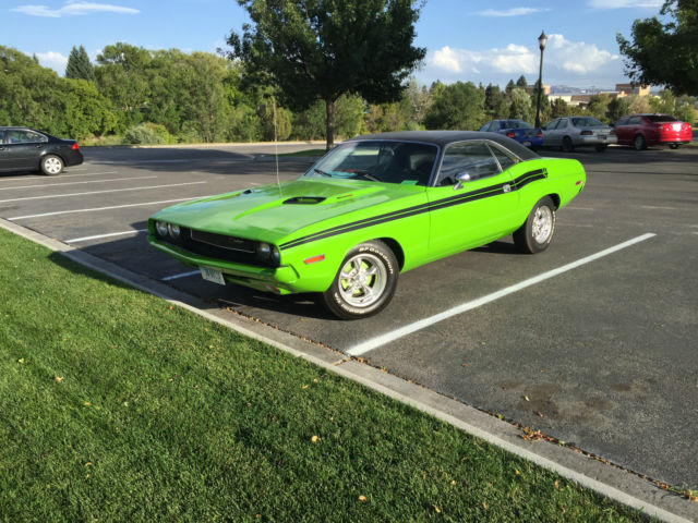 1971 Dodge Challenger R/T tribute