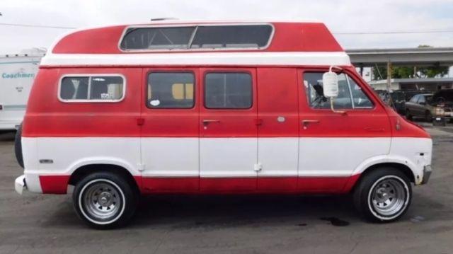 1971 Dodge Classic Camper Van Bubble Top for sale: photos