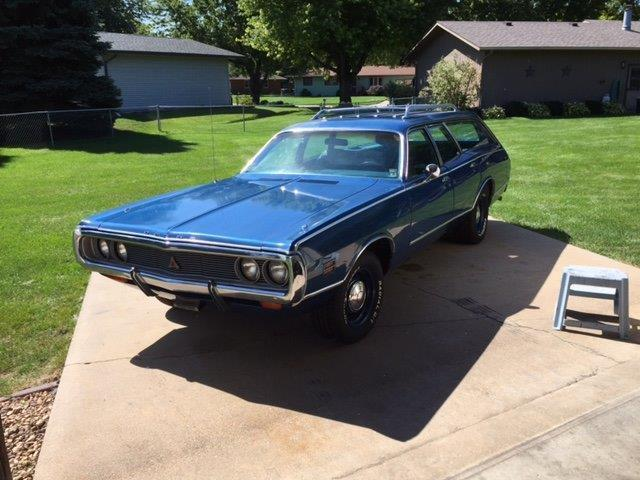 1971 Dodge Coronet HP N code wagon