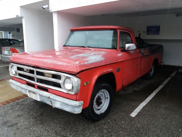 1971 Dodge Other Pickups D200