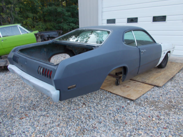 1971 dodge demon shell for restoration or drag car pro stock nss for sale photos technical. Black Bedroom Furniture Sets. Home Design Ideas