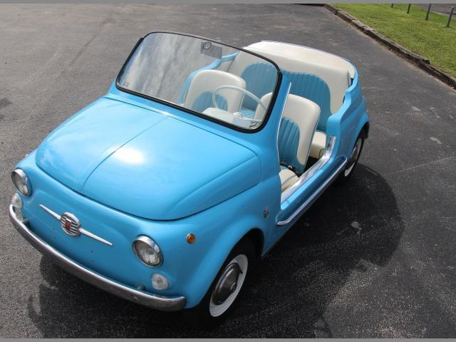 1971 Fiat 500 Jolly replica