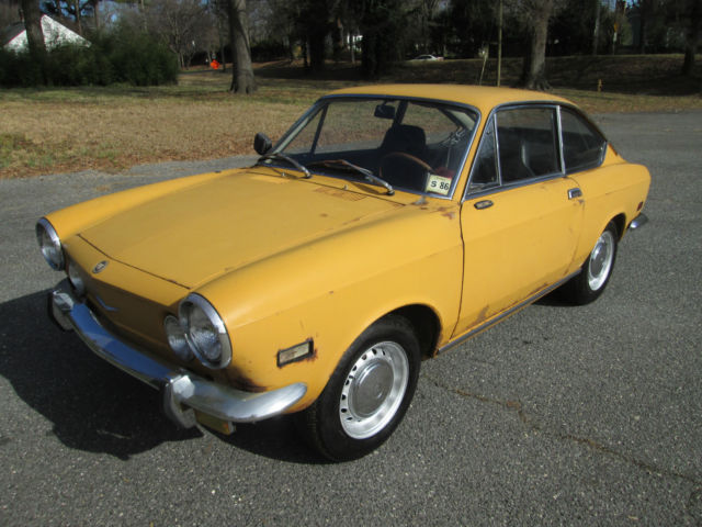 1971 Fiat 850 COUPE